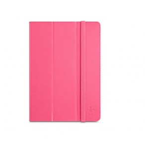 BELKIN Tri-Fold Cover with Stand for iPad Air (Bubblegum)