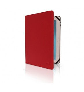 V7 TUC-8-RED-14E - Red - Universal Folio Case for iPad/Tablet - 7in to 8in
