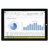 "MICROSOFT Surface Pro 3, Intel i7 12"" LCD 8GB RAM 256GB HDD Windows 8 silver tablet"