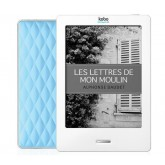"Kobo Touch 6"" monochrome E Ink - touch sensitive - white/blue - eBook"